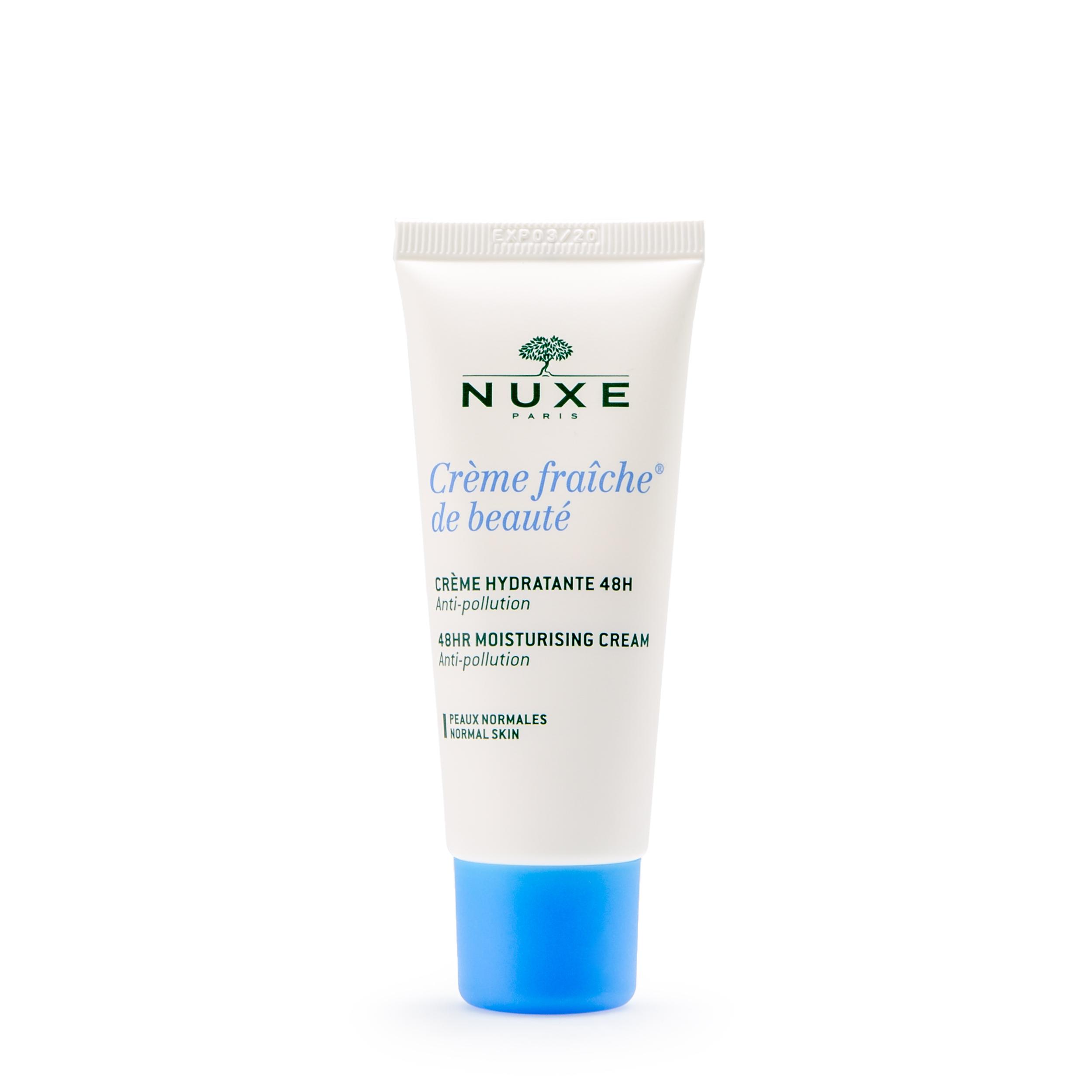 NUXE Увлажняющий крем для лица 48 часов «Crème fraiche de beaute» 30 мл