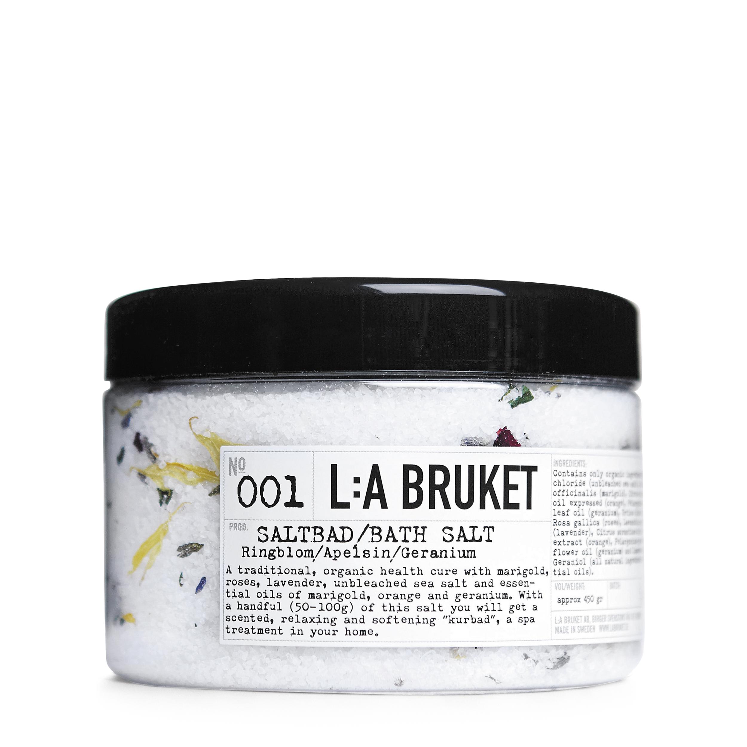 Купить L:A BRUKET Соль для ванн