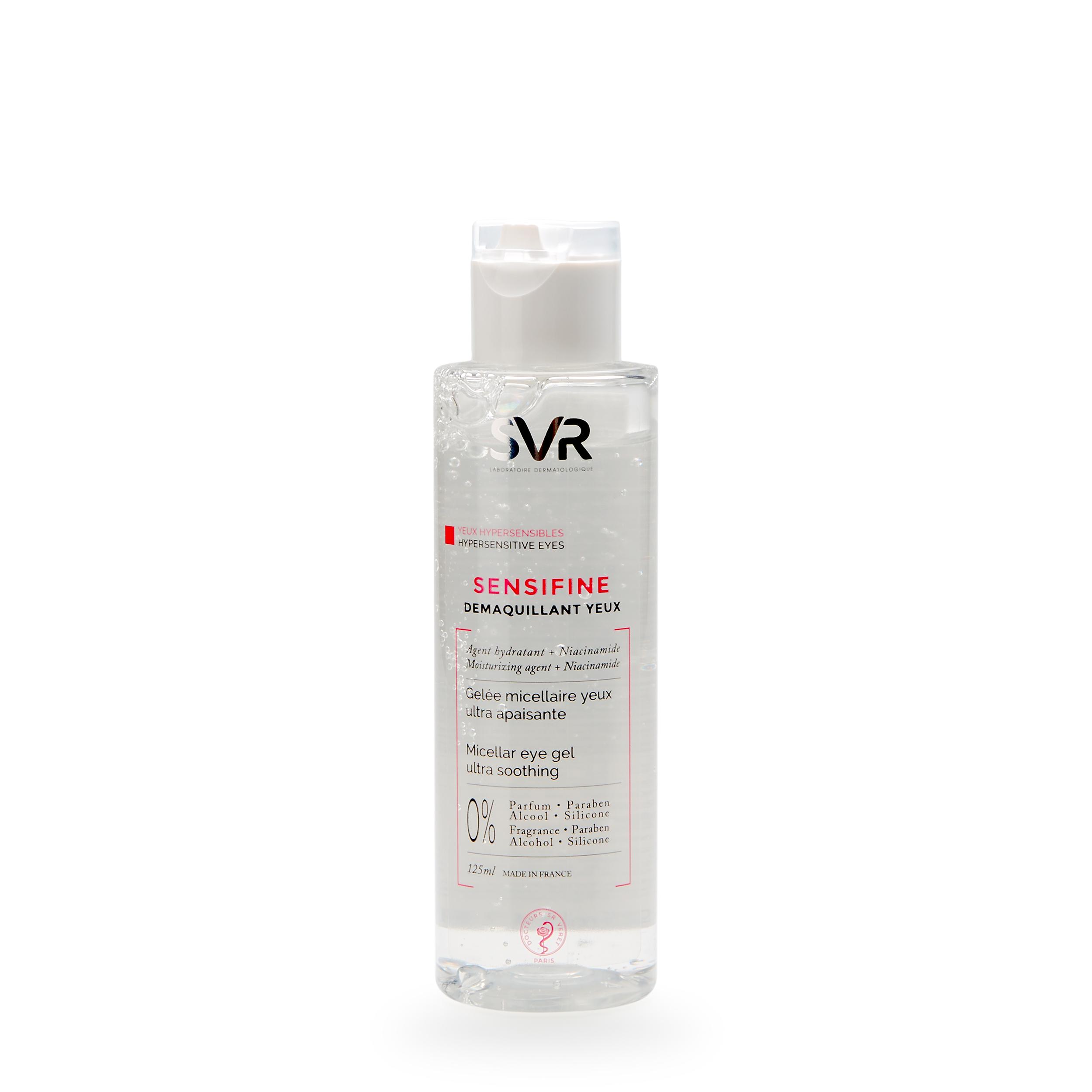 Купить SVR Мицеллярное желе для снятия макияжа с контура глаз 125 мл