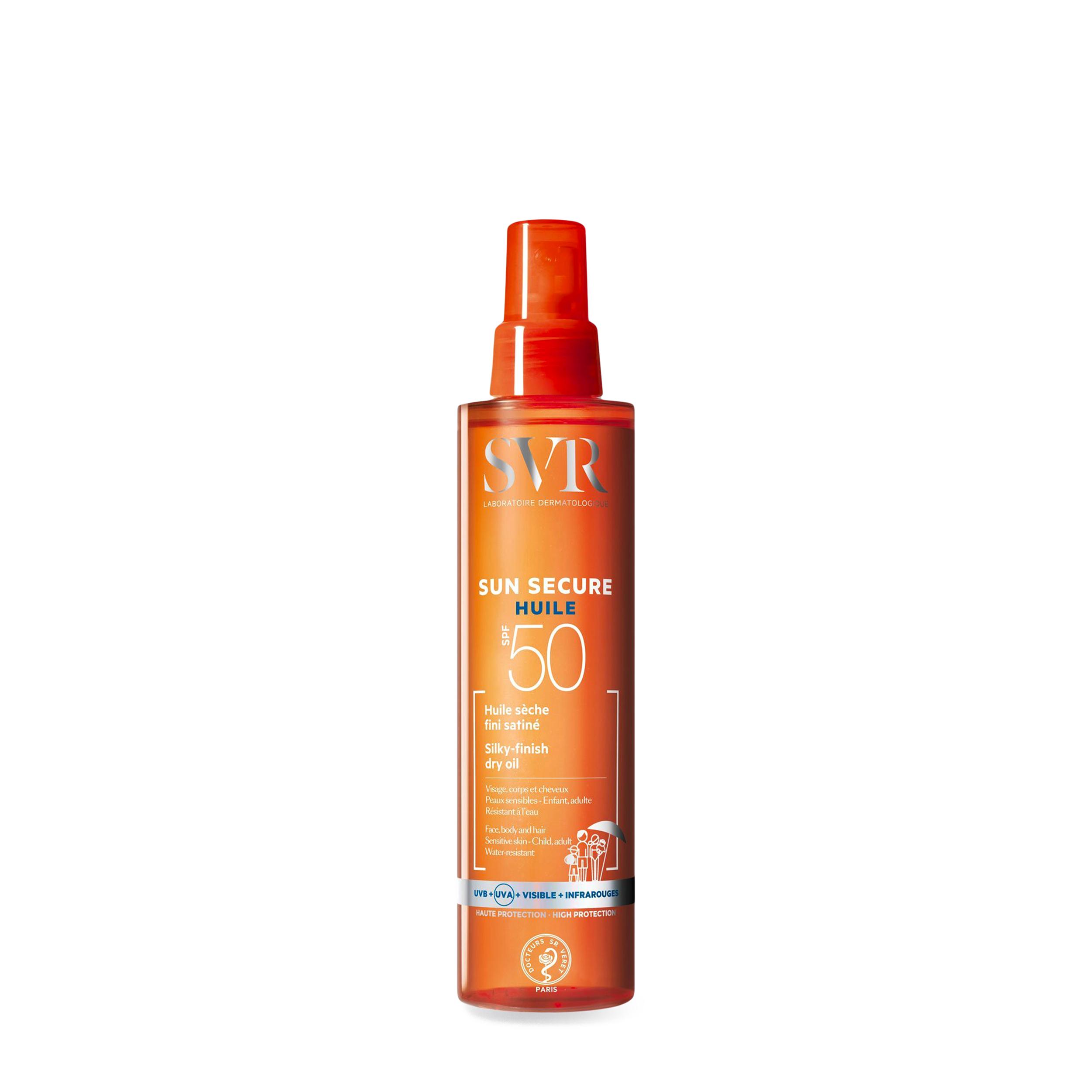 SVR Сухое масло «Sun Secure» SPF50 200 мл фото