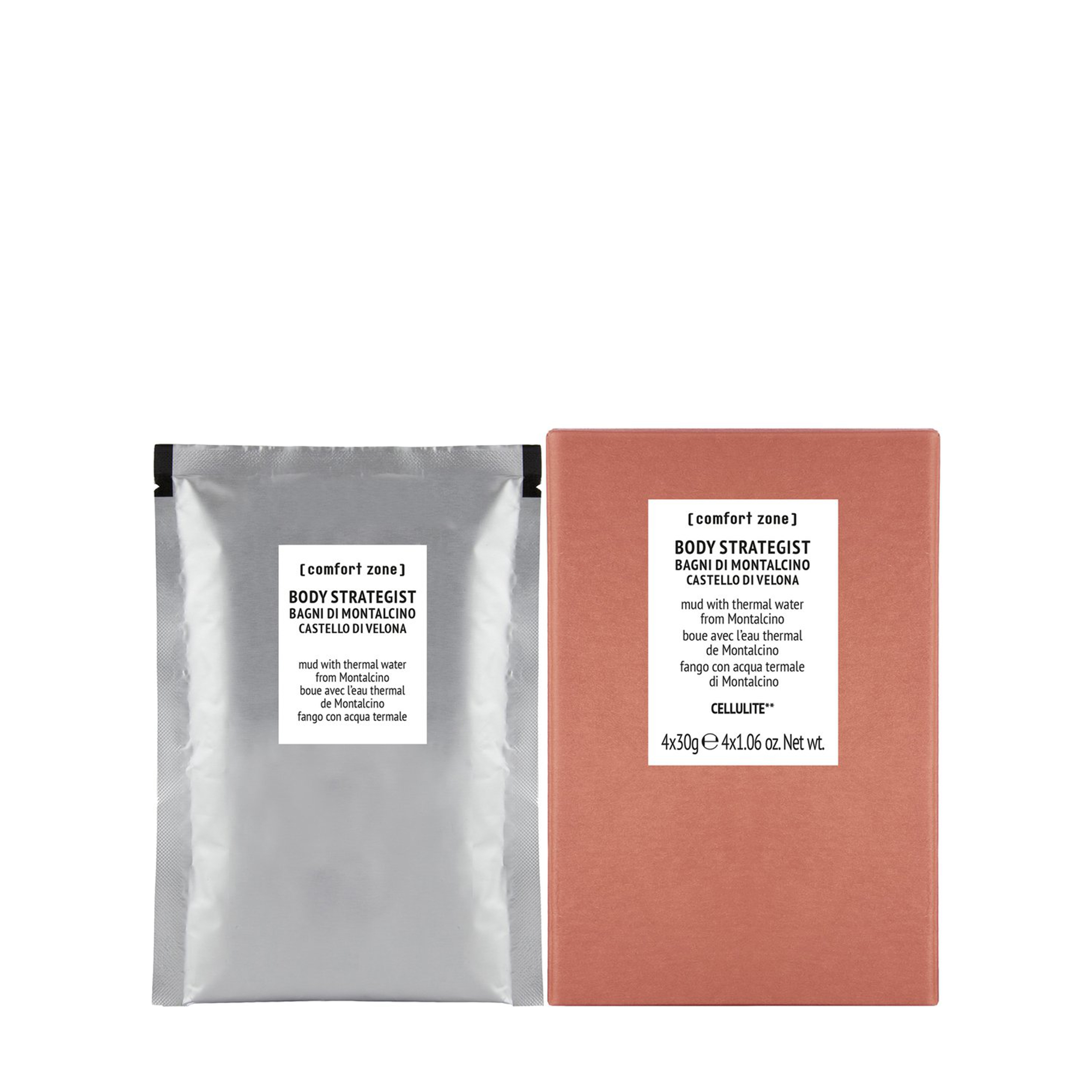Comfort Zone Антицеллюлитная маска «BODY STRATEGIST» 4 шт фото