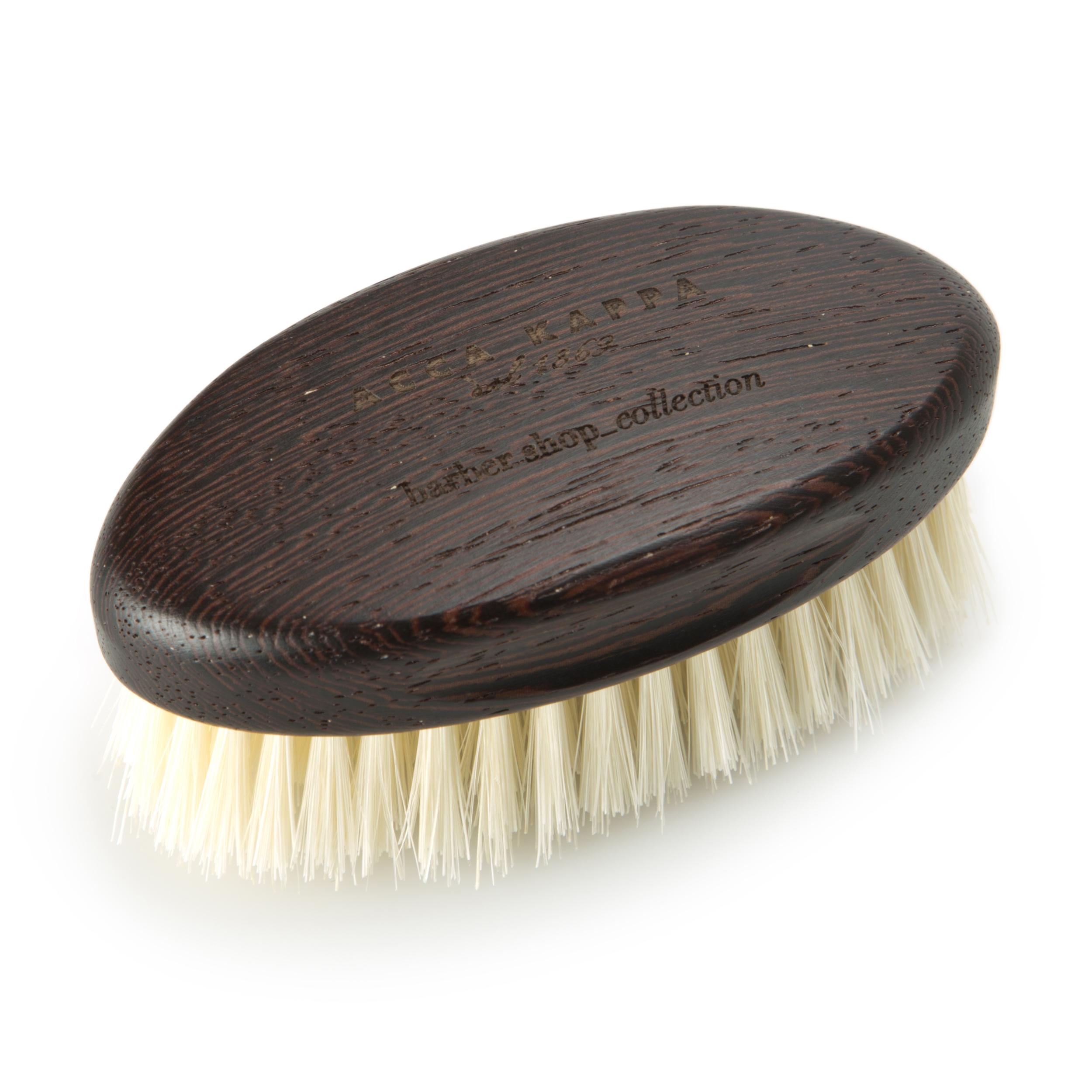 Щетка для бороды с основой из дерева