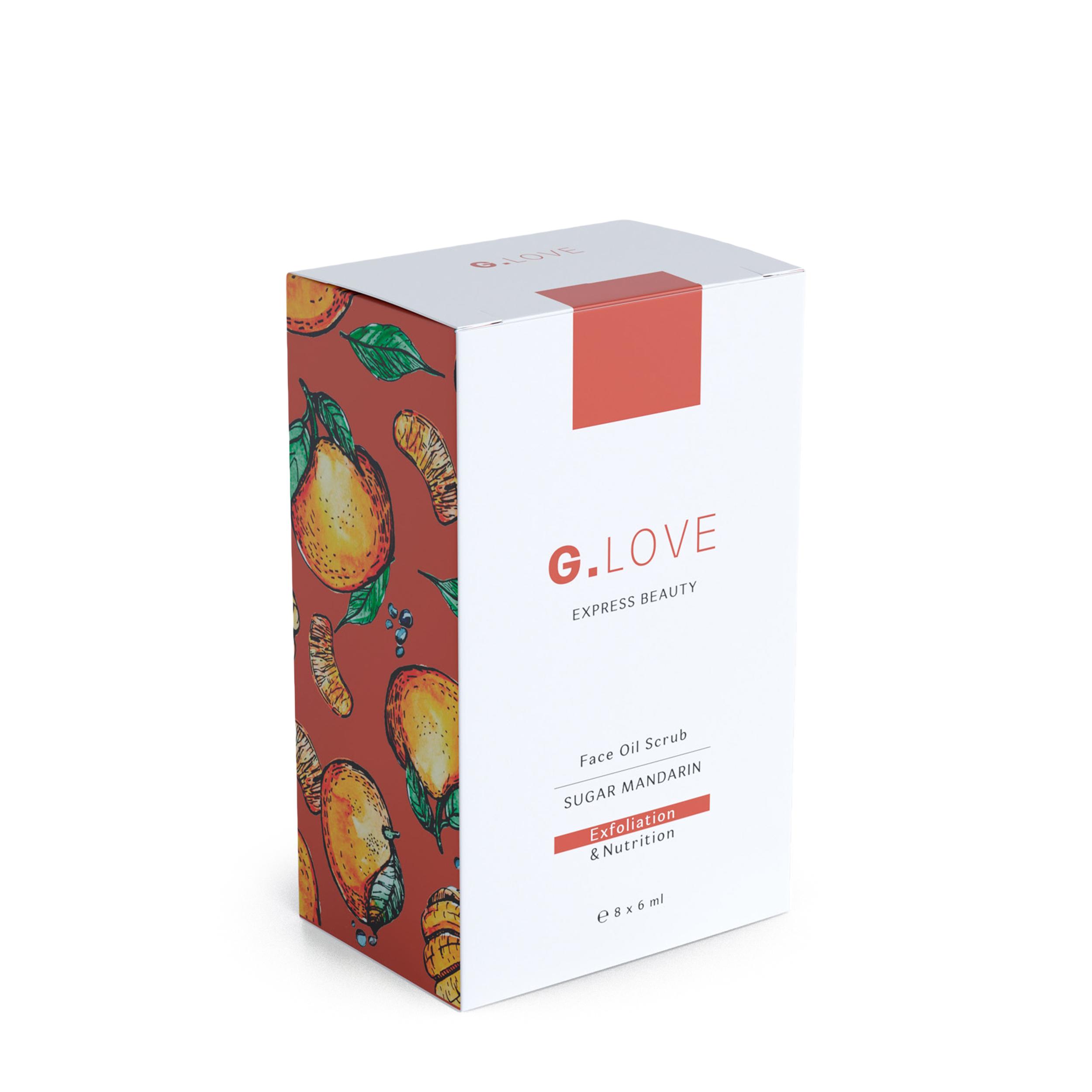G.LOVE Масляный скраб для лица Sugar Mandarin 8x6 мл фото