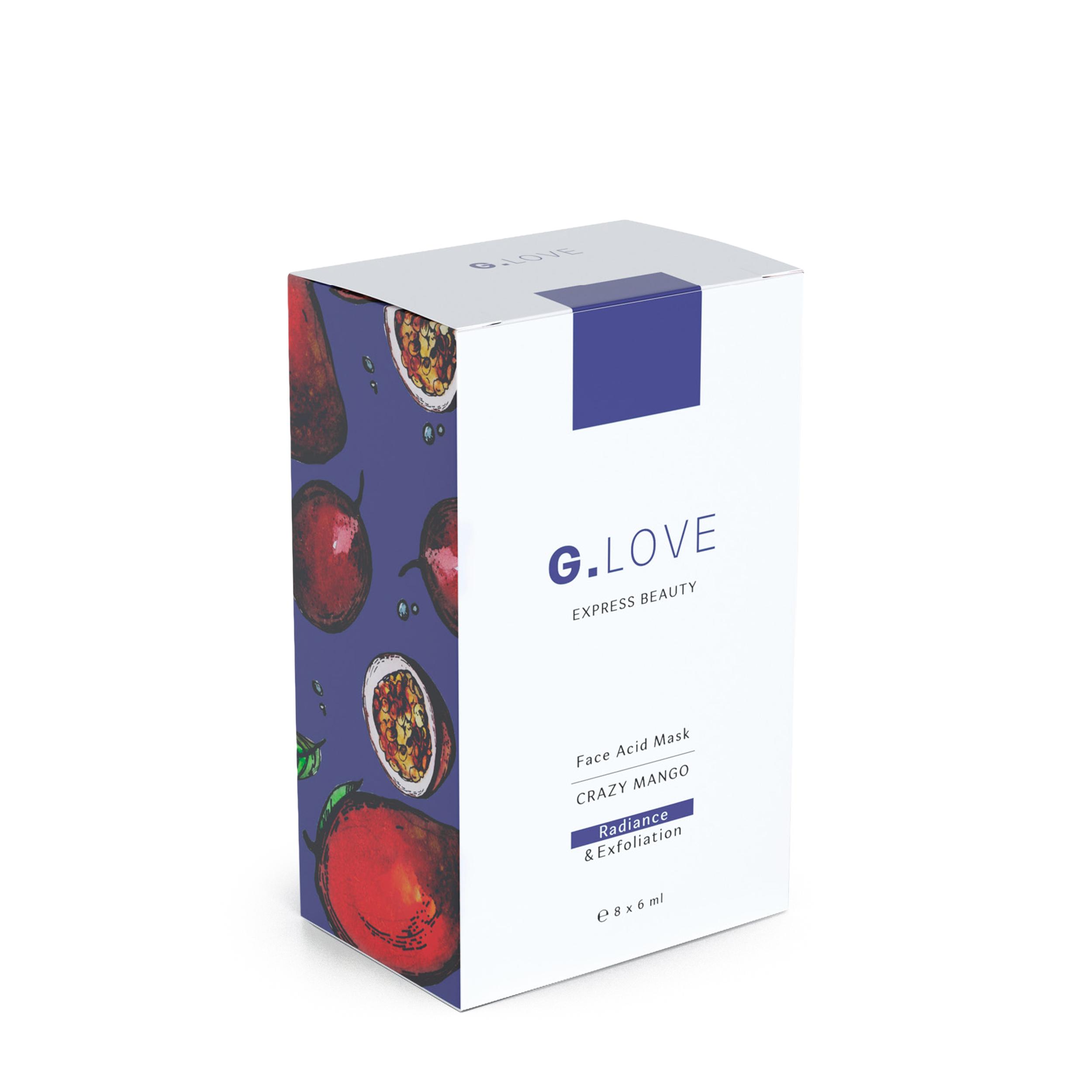 Купить G.LOVE Кислотная маска для лица Crazy Mango