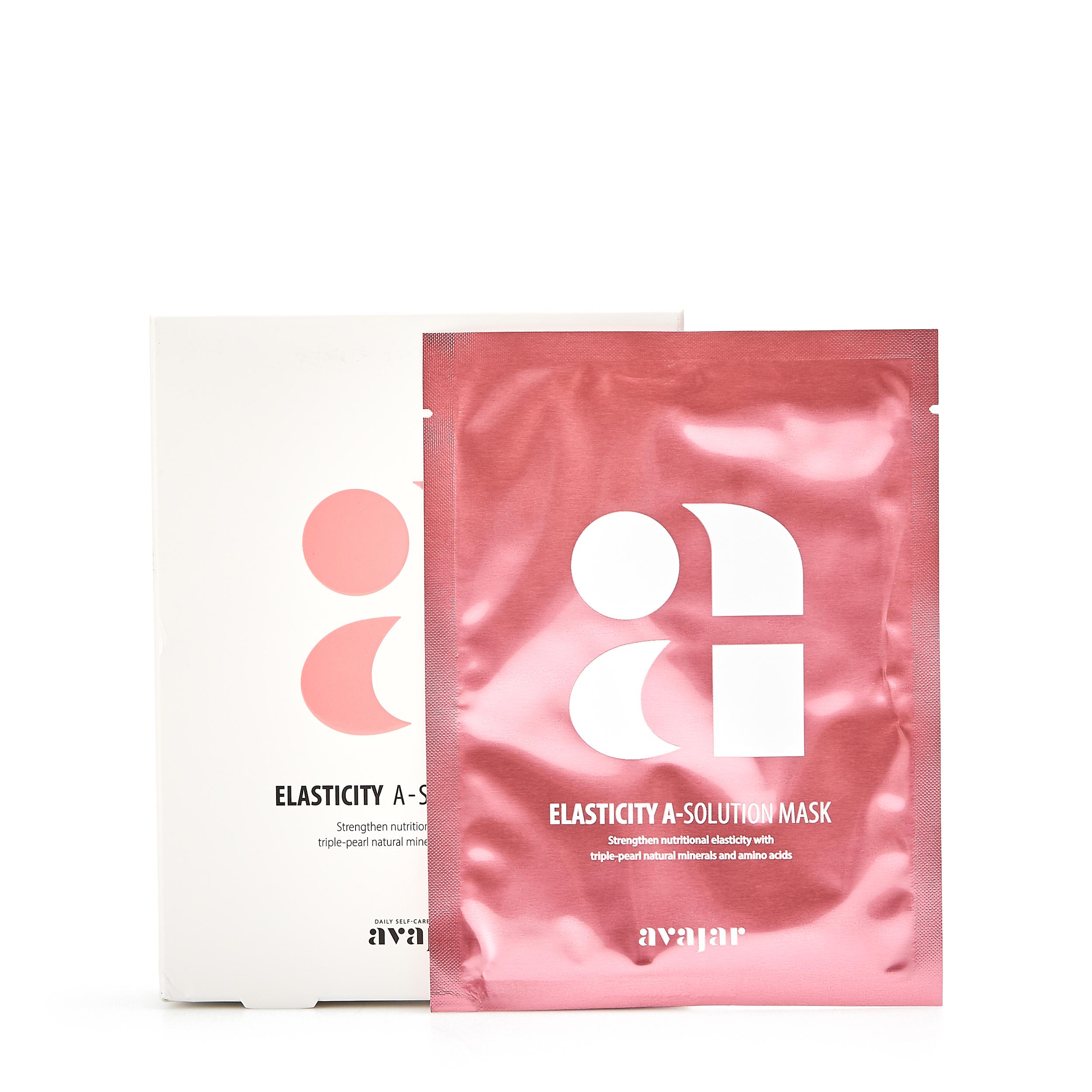 Купить AVAJAR Маска для повышения эластичности кожи «Elasticity A-Solution» 10 шт.