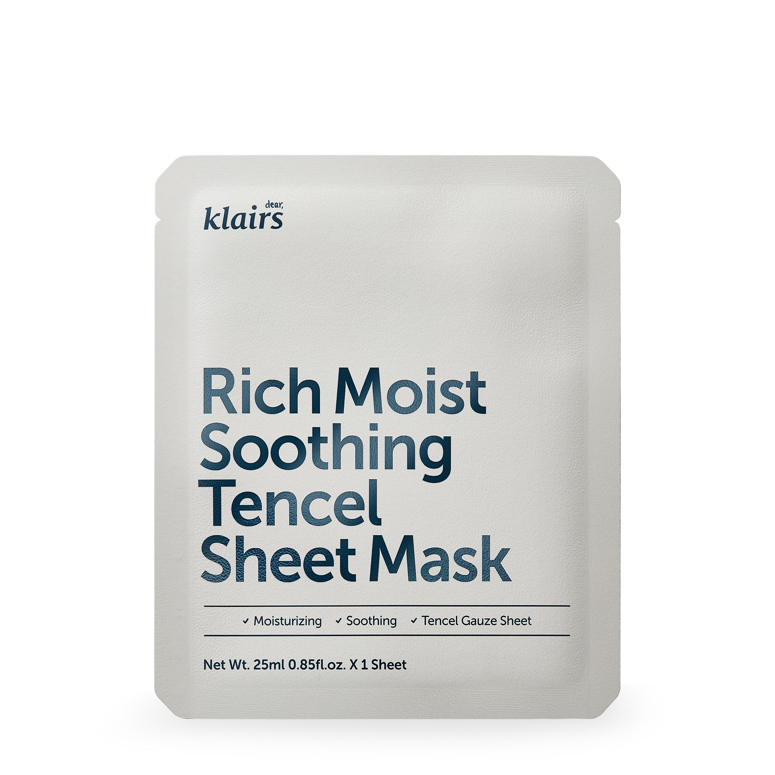 Купить Dear, Klairs Маска успокаивающая на тканевой основе