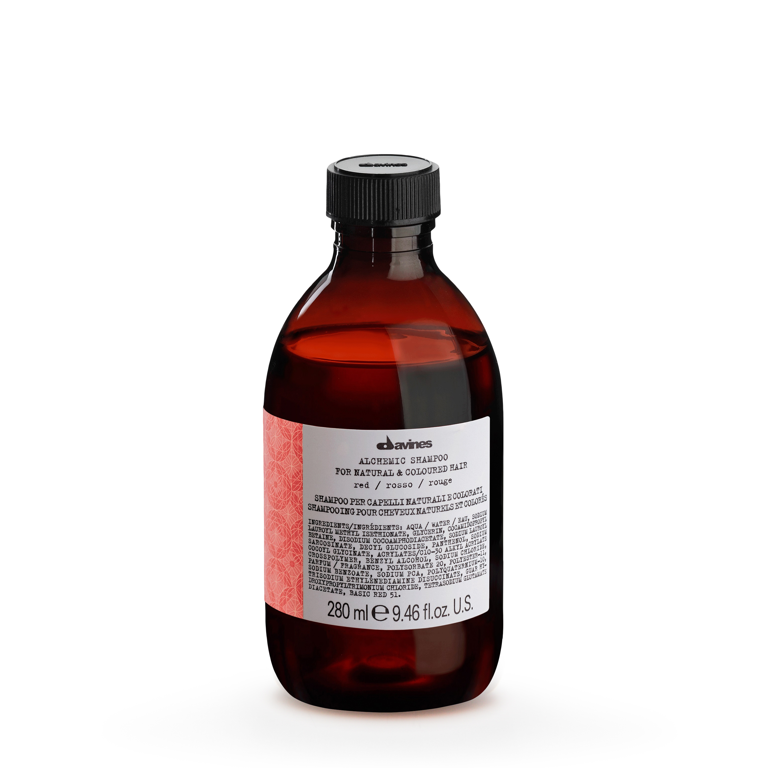 Davines Оттеночный шампунь «Алхимик», красный 280 мл фото