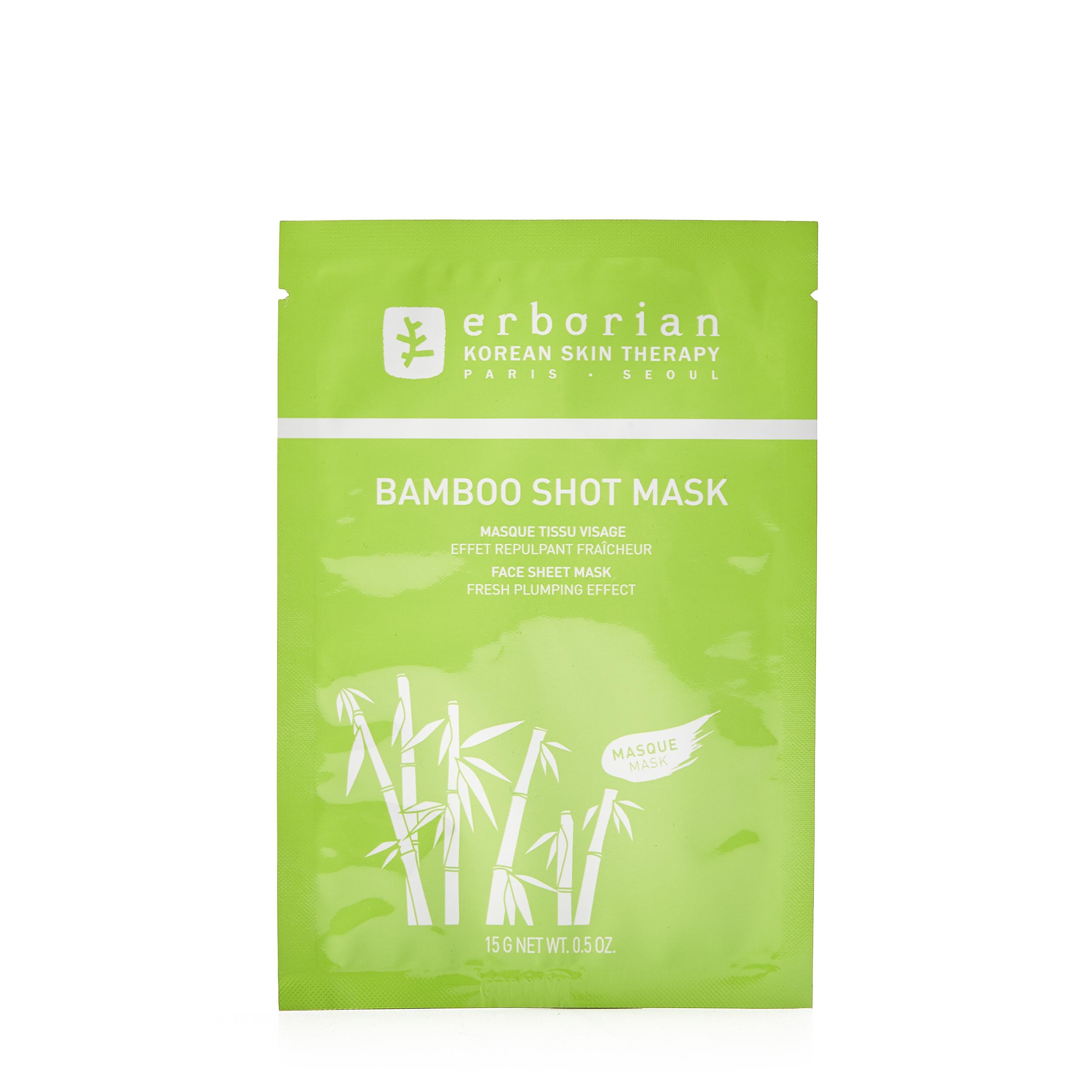 Erborian Увлажняющая тканевая маска «Бамбук» 15 гр фото