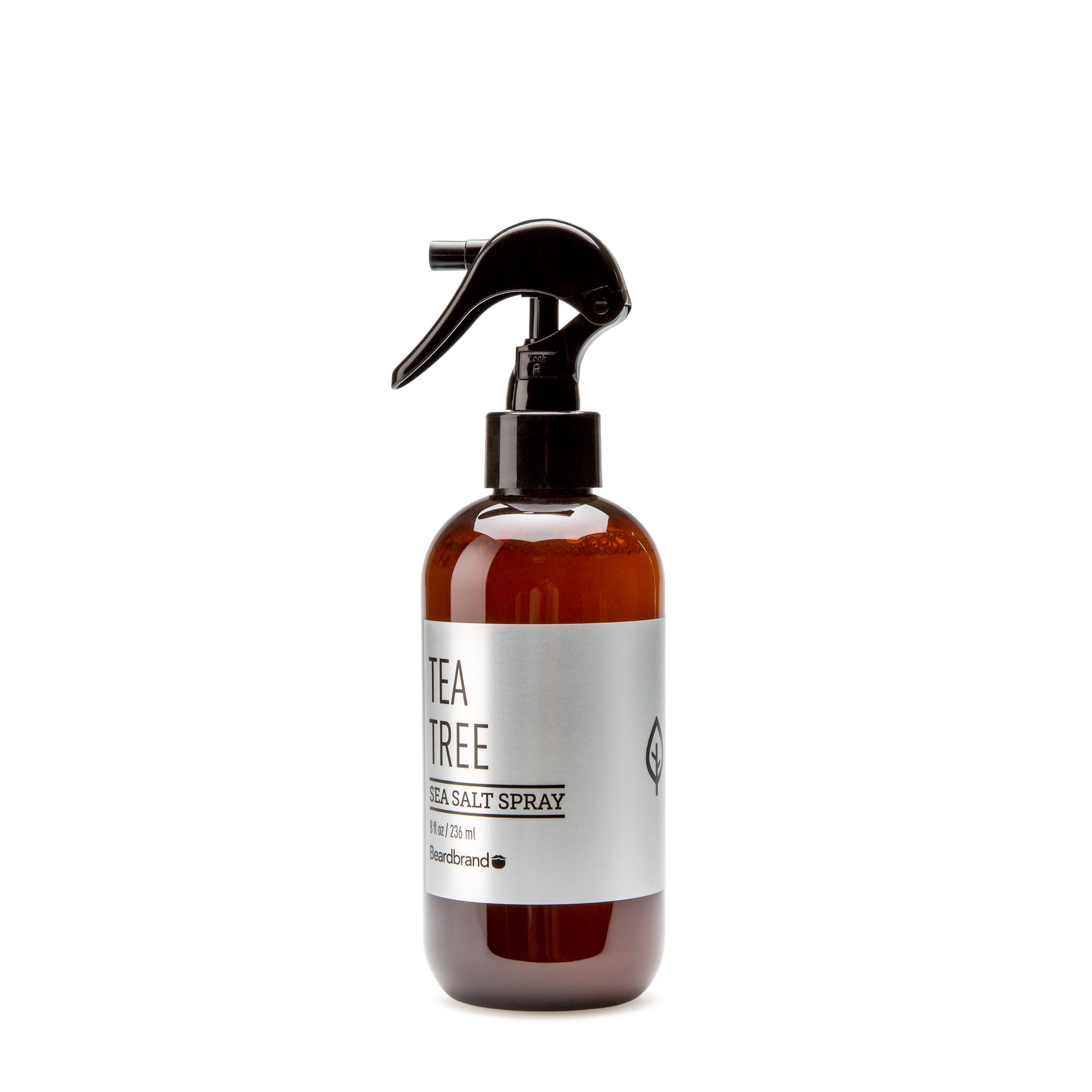 Купить Beard Brand Спрей для волос Tea Tree Sea Salt Spray 250 мл. 250 мл