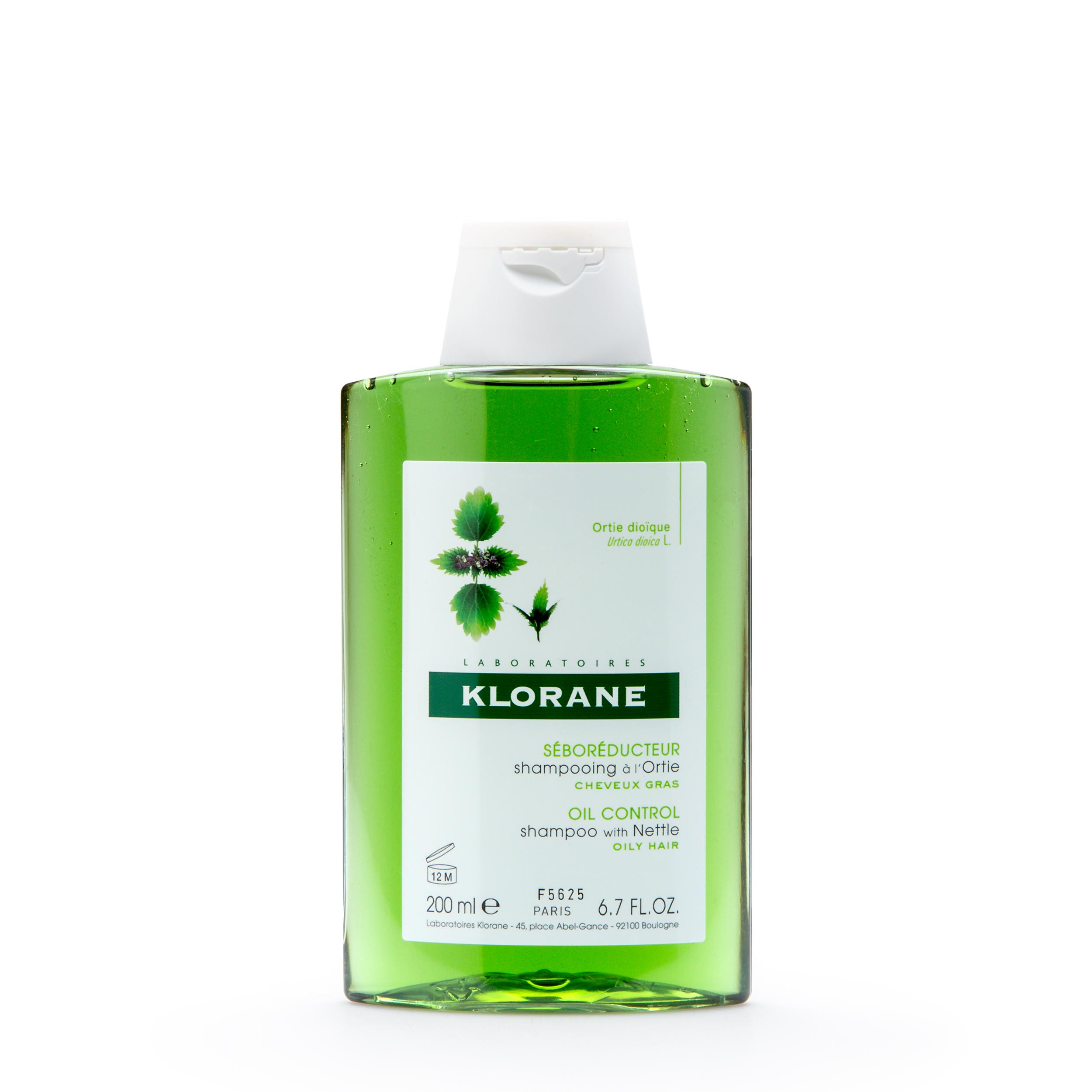 Купить KLORANE Себорегулирующий шампунь с экстрактом крапивы 200 мл