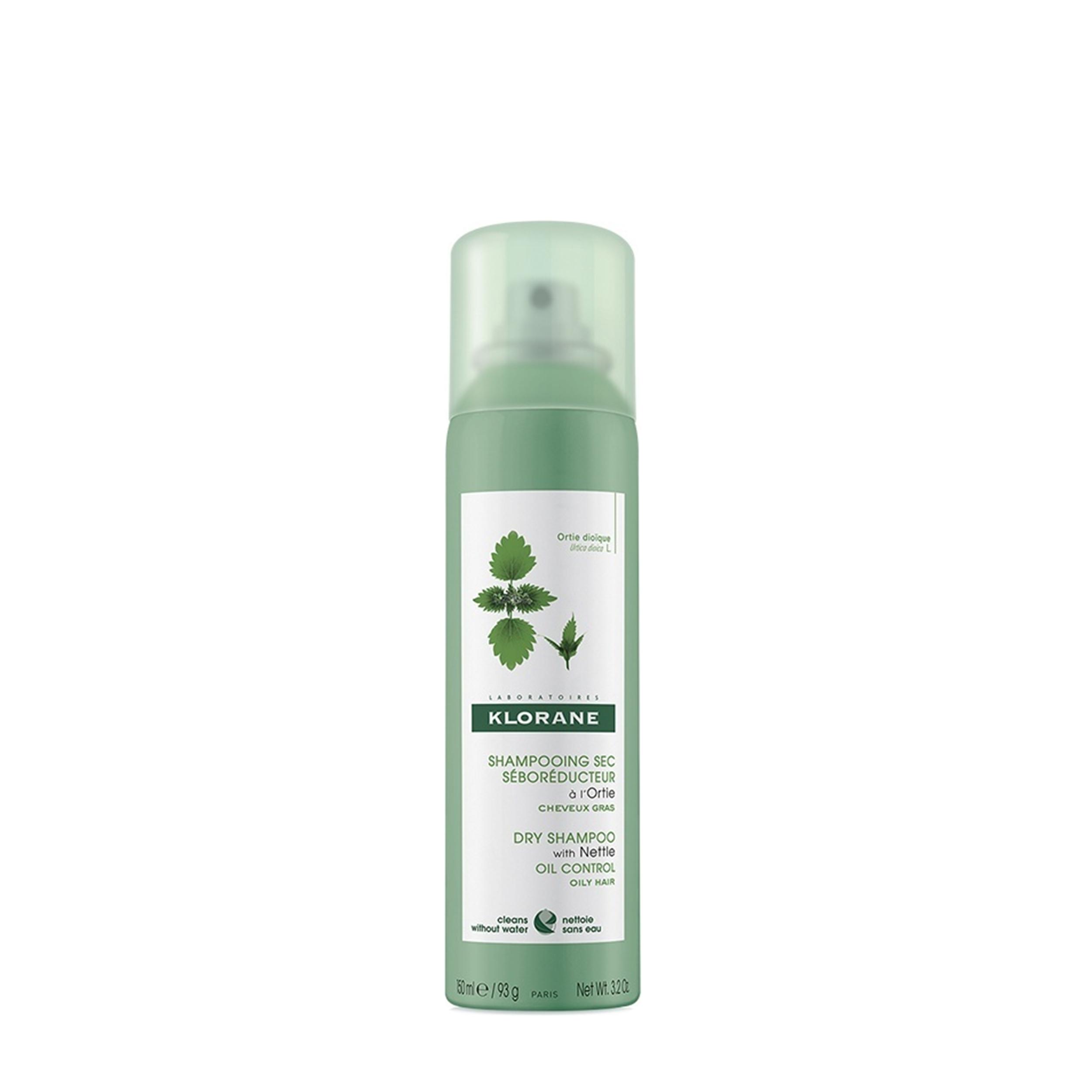 Купить KLORANE Сухой шампунь с экстрактом крапивы для жирной кожи 150 мл