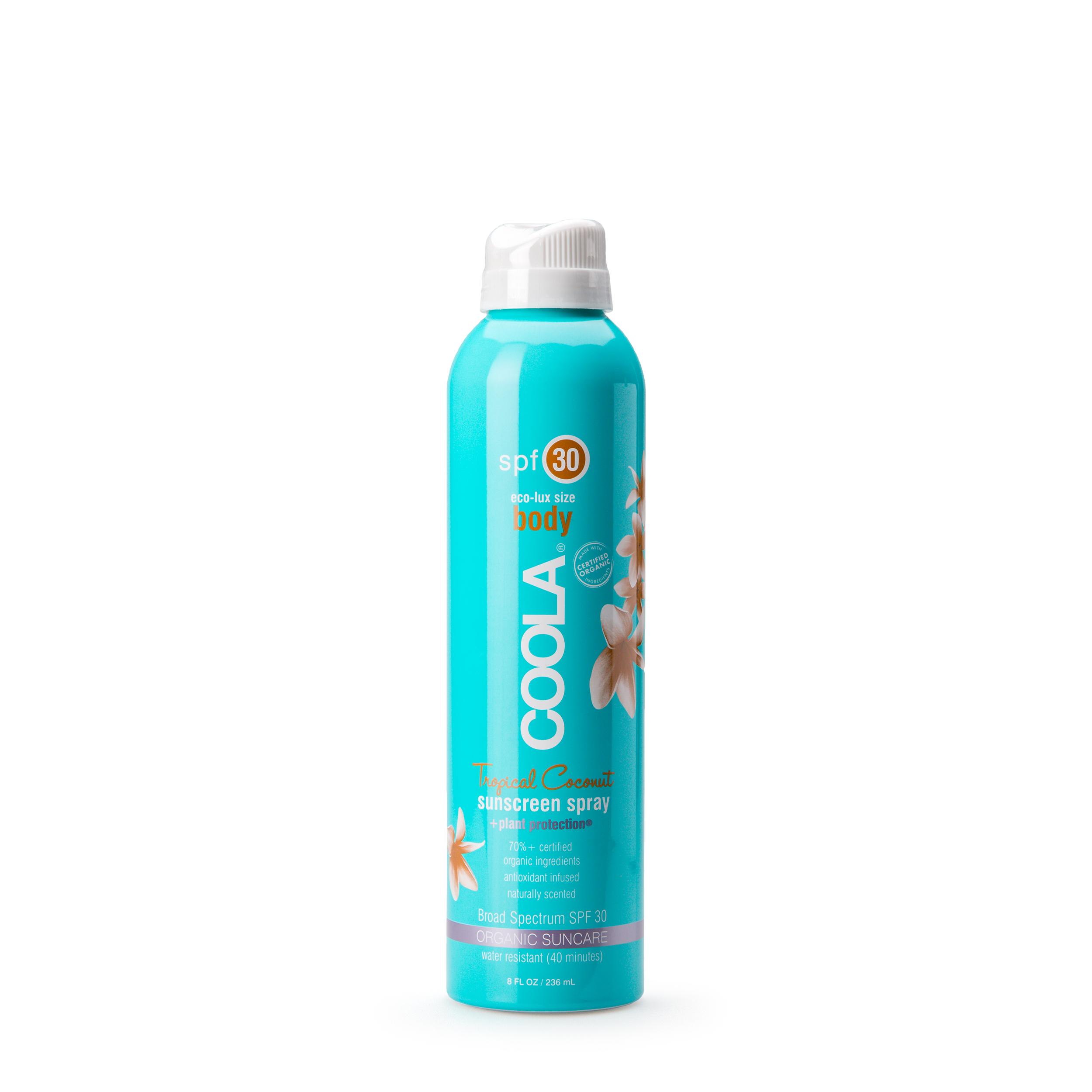 Купить COOLA Солнцезащитный спрей для тела «Тропический кокос» 236 мл