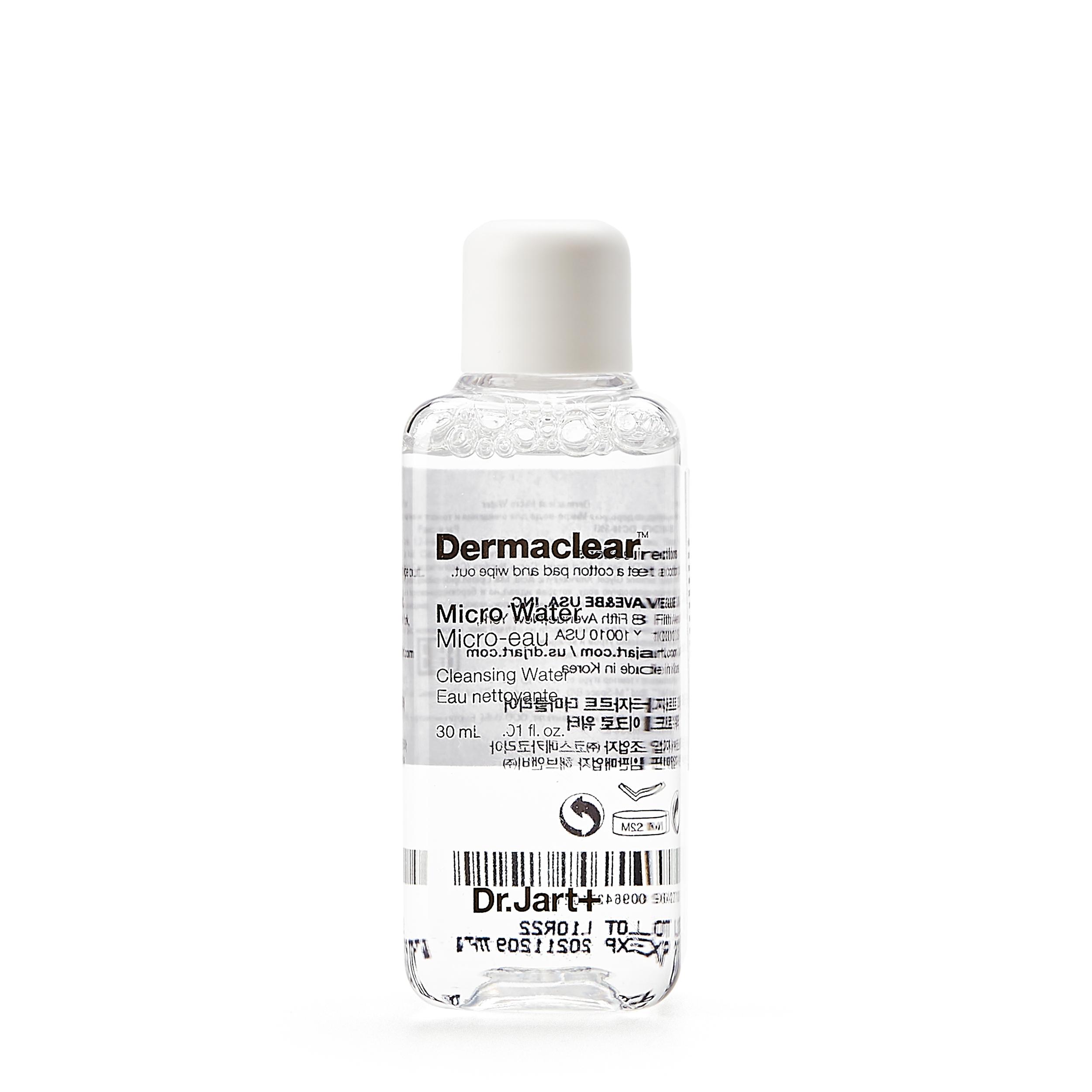Dr.Jart+ Биоводородная вода для очищения и тонизирования кожи 30 мл фото