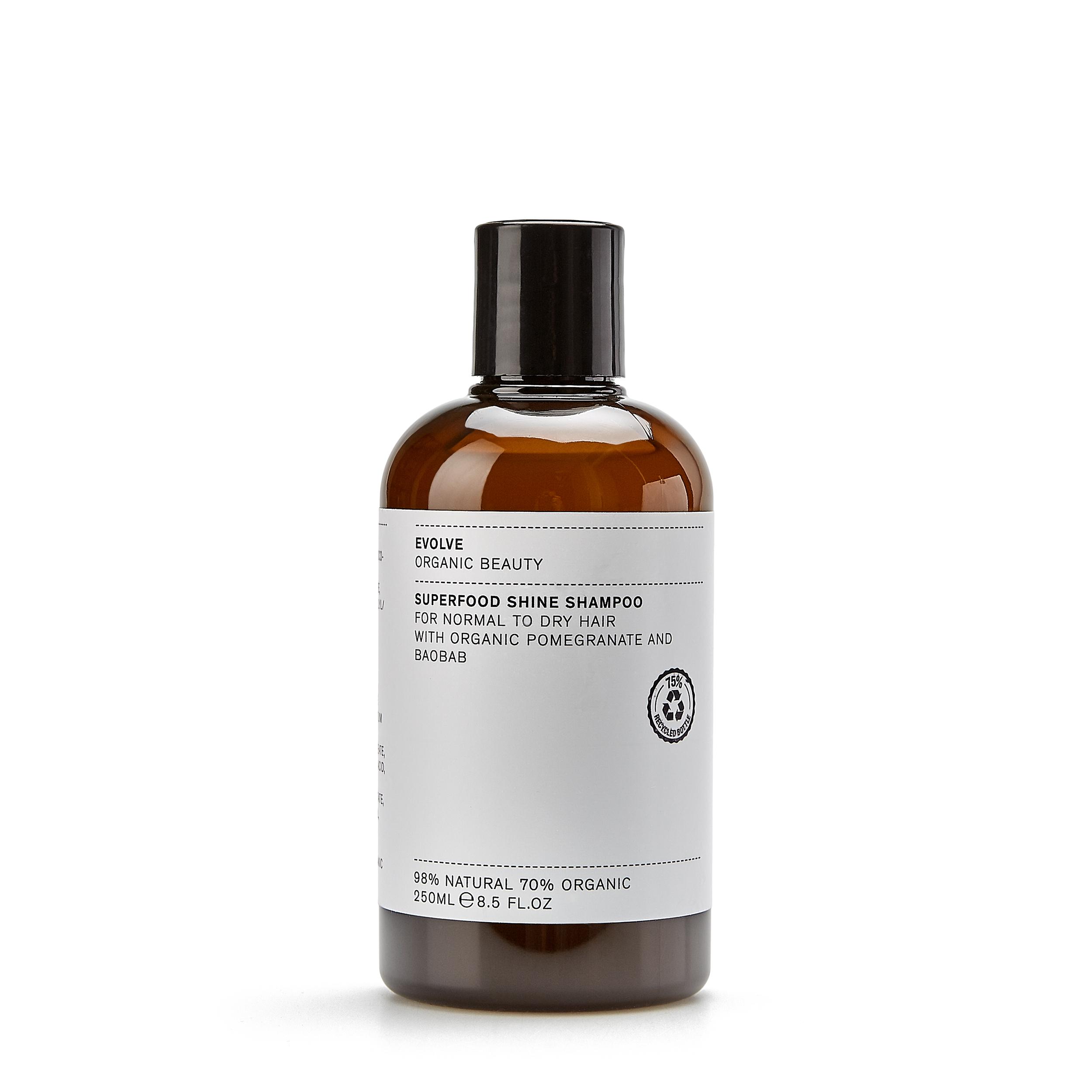 Evolve Organic Beauty Шампунь «Superfood Shine Shampoo» 250 мл фото