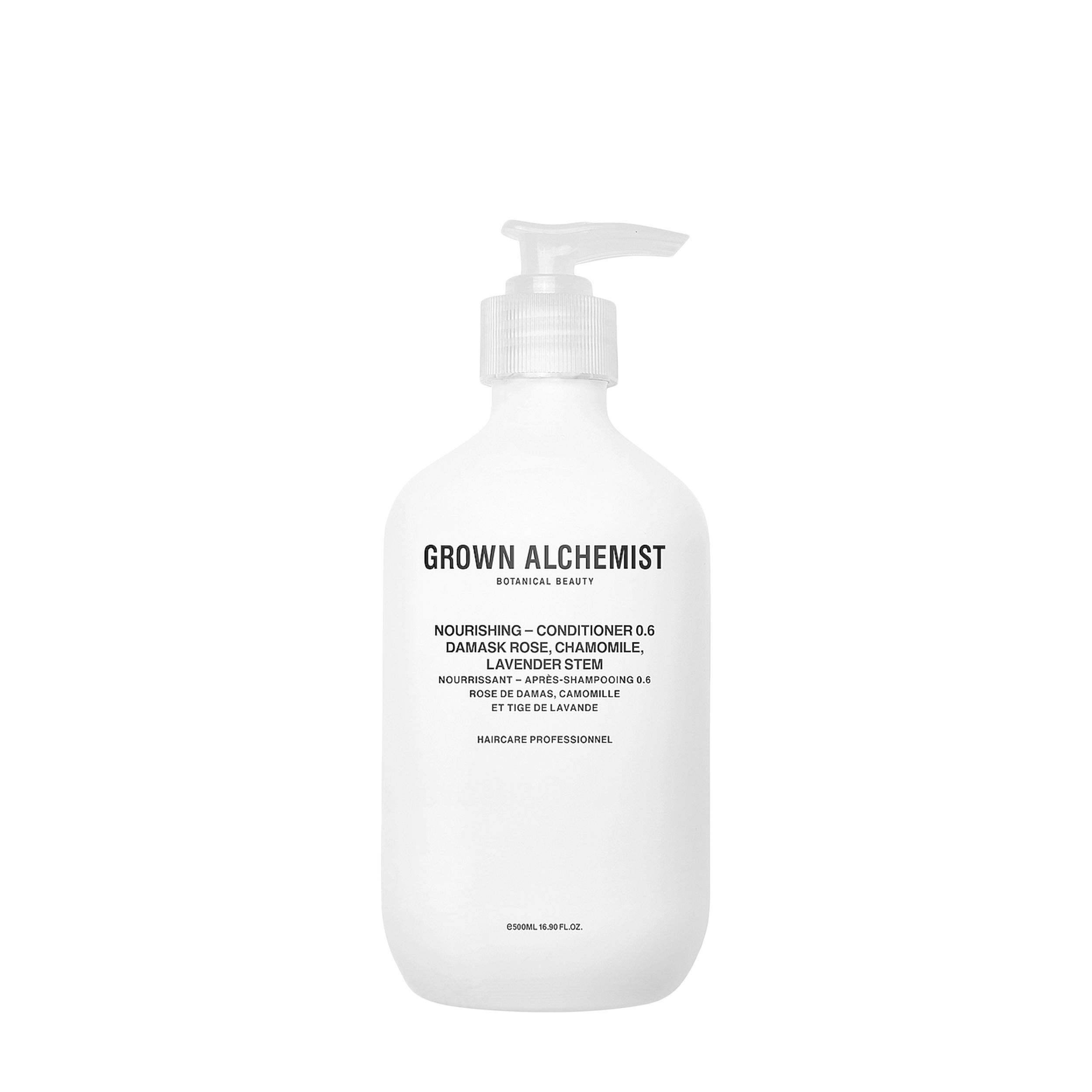 Купить Grown Alchemist Питательный кондиционер для волос «Дамасская роза, ромашка, лаванда»