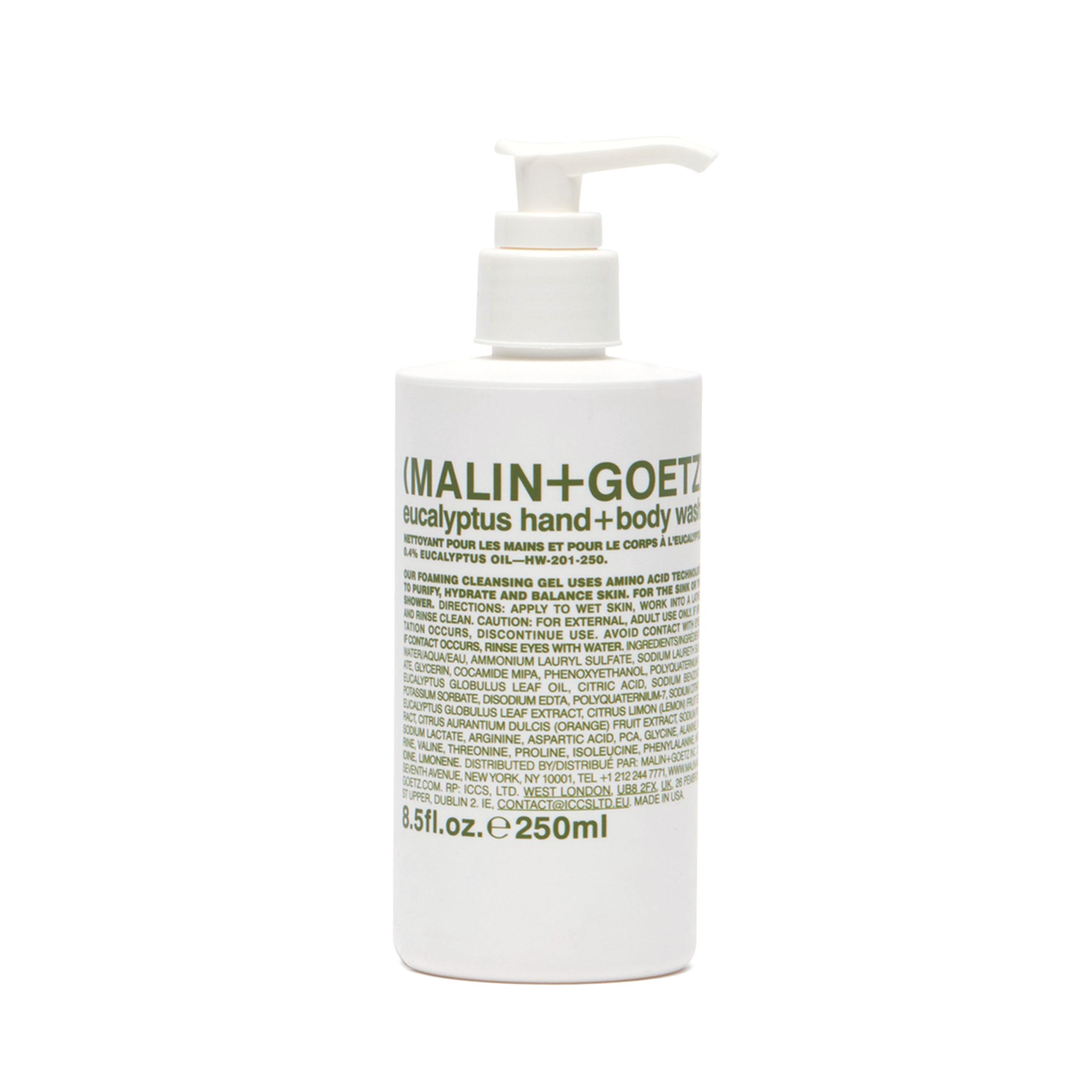Купить MALIN+GOETZ Гель-мыло для тела и рук «Eucaliptus»