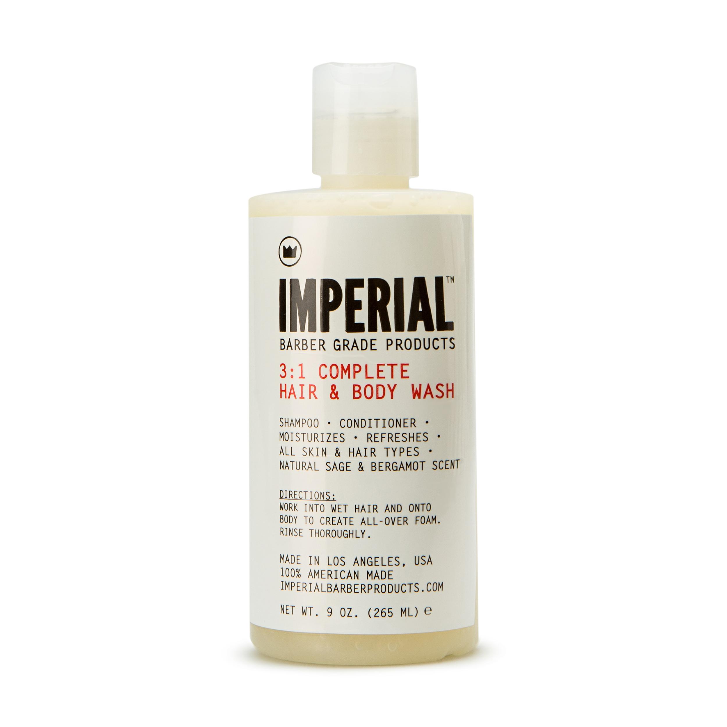 Imperial Barber Питательный шампунь и гель для душа 3 в 1 265 мл фото