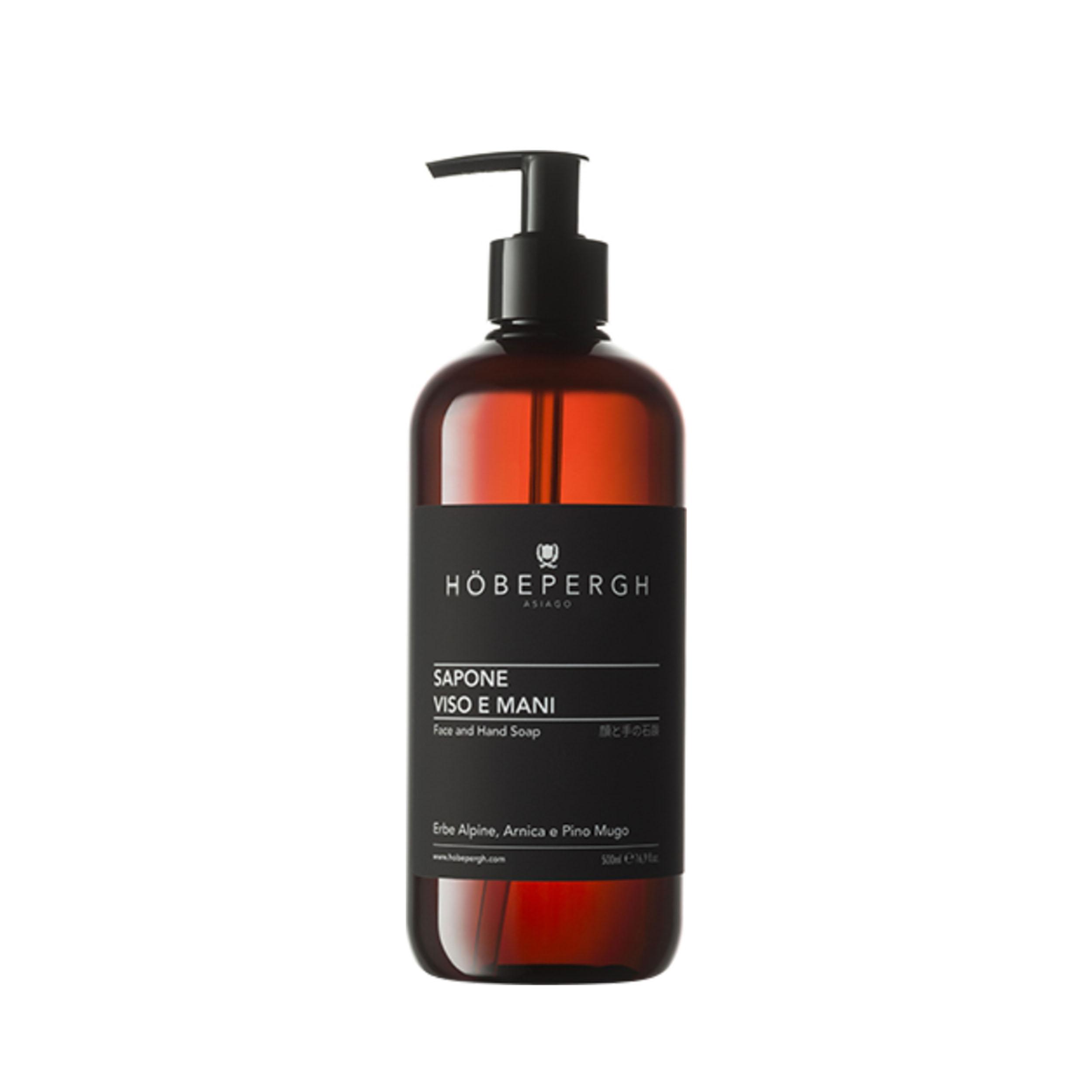 HOBEPERGH Жидкое мыло для лица и рук 500 мл фото