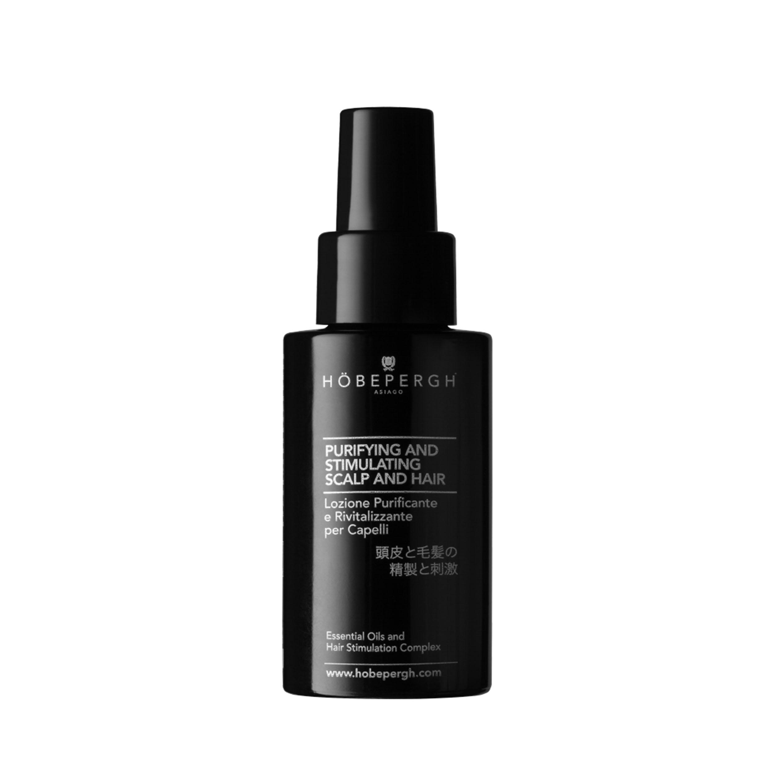 HOBEPERGH Лосьон для кожи головы очищающий и стимулирующий рост волос 50 мл фото