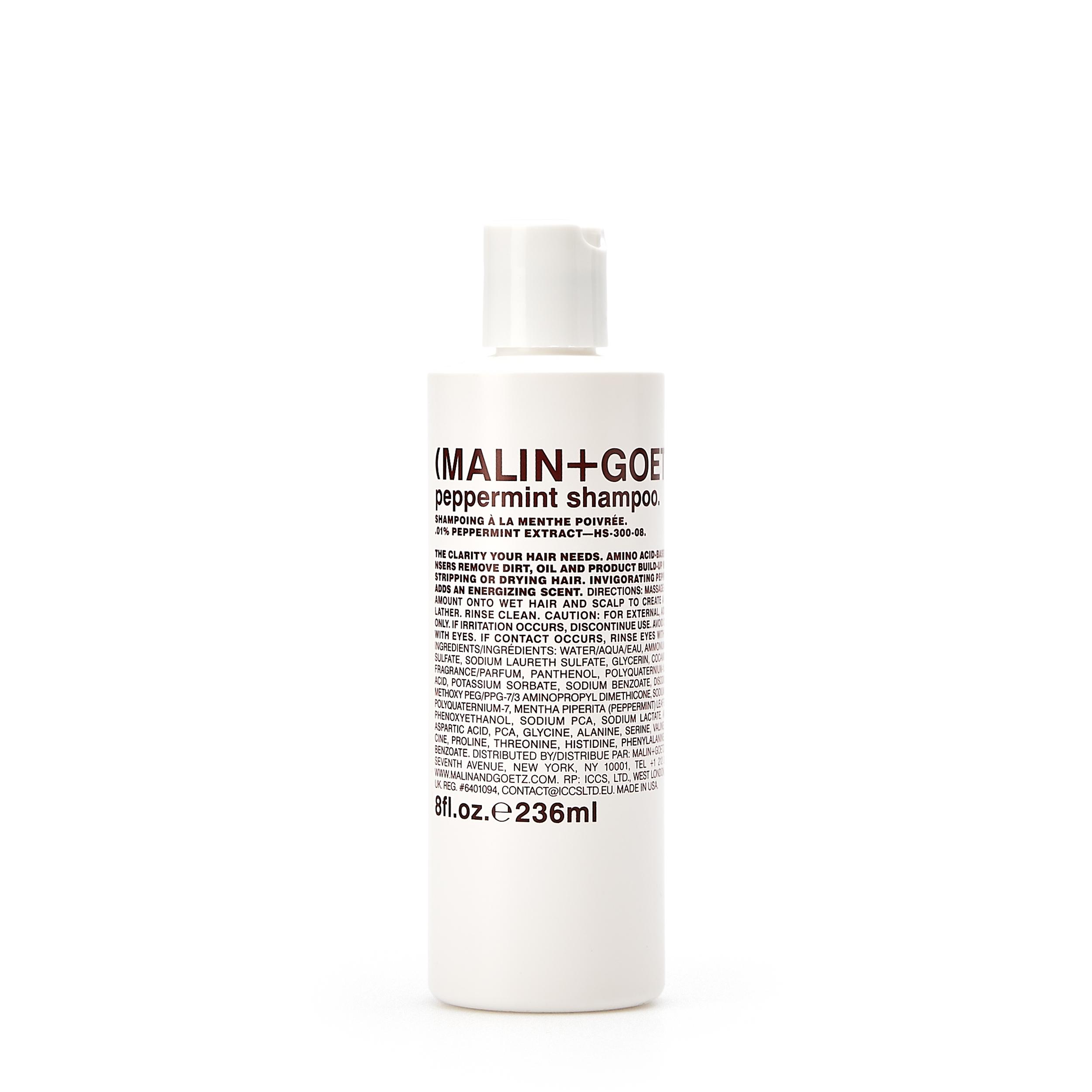 Купить MALIN+GOETZ Шампунь для волос «Peppermint»
