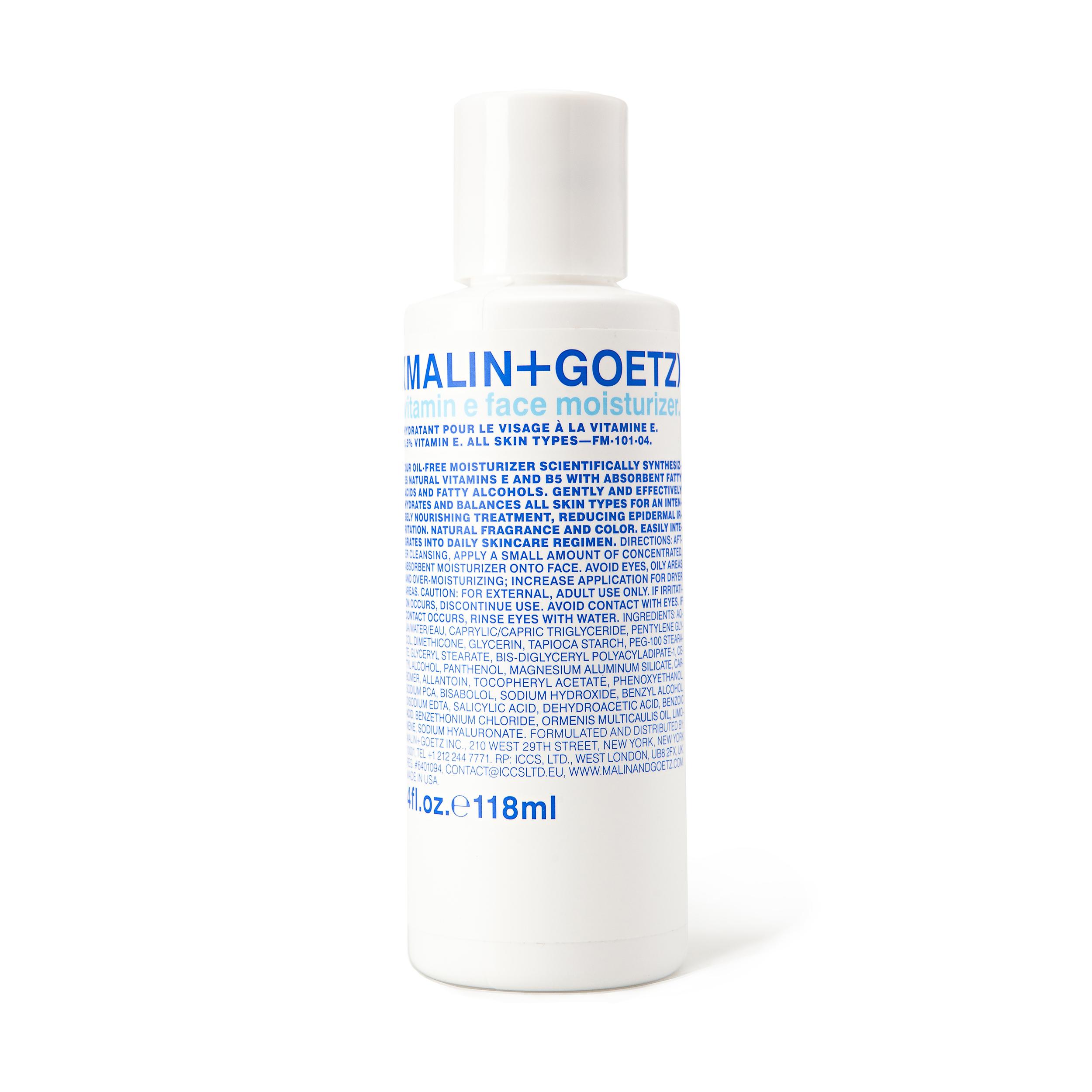 Купить MALIN+GOETZ Крем для лица увлажняющий с витамином Е