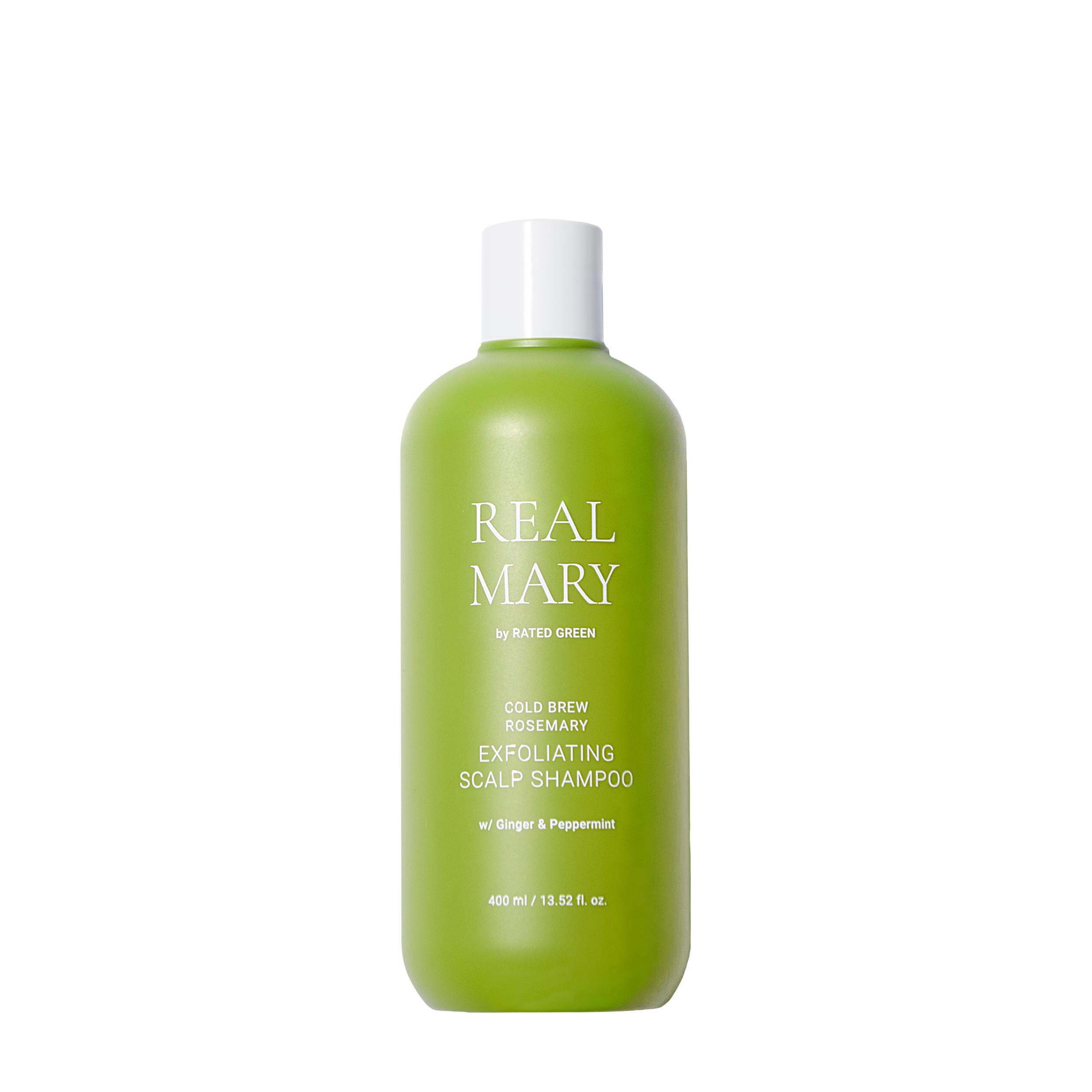Купить Rated Green Очищающий и отшелушивающий шампунь для волос Real Mary Exfoliating Scalp Shampoo